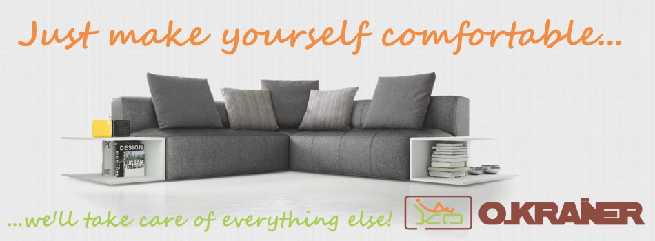 Just make yourself comfortable We promise to take care of everything else
